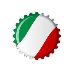 cap Italiy flad