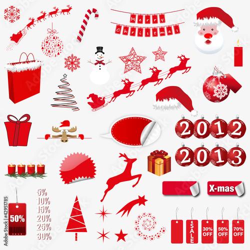 Weihnachtscollage