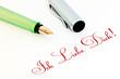 Füller - Ich Liebe Dich!