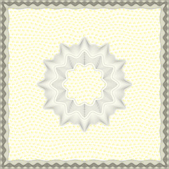 Square Vector Certificate Template