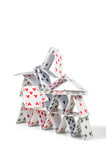 einstürzendes Kartenhaus