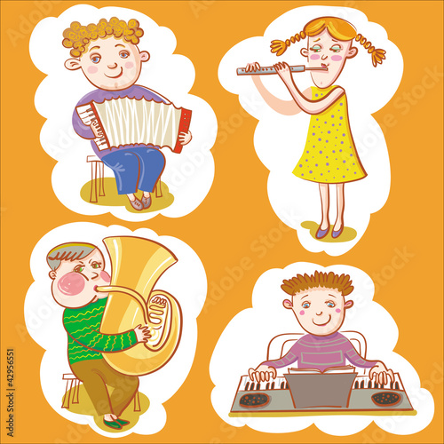 Little Musicians.