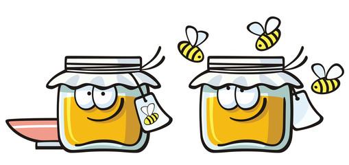 cute foods - honey