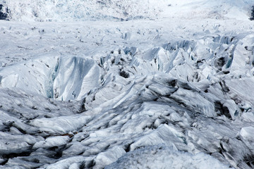 glacier- close up