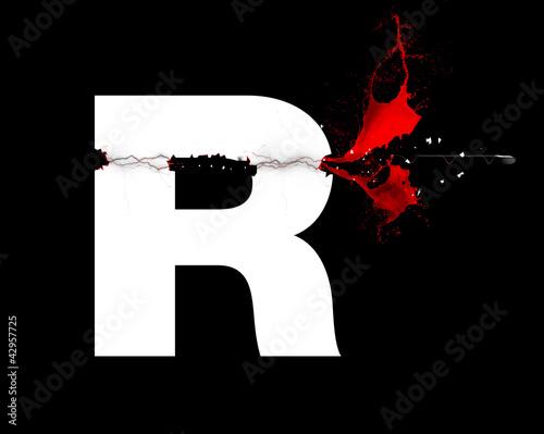 R - Lettre - Trajectoire de balle