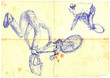 bmx free style - original sketches