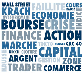 mots, businness, bourse