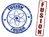 Fusion stamps poster