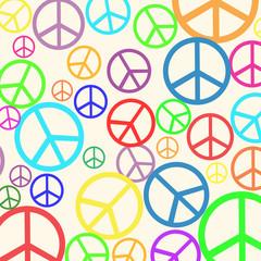 Retro peace background