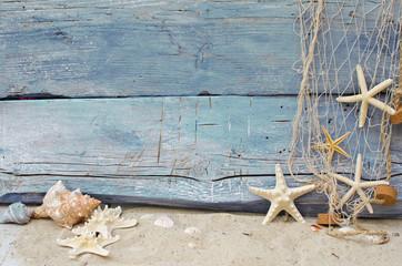 Sealife background in blue