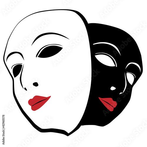 biala-i-czarna-maska