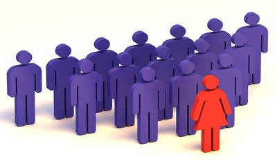 Führungsposition Frau