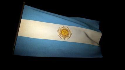 Flag Argentina 01