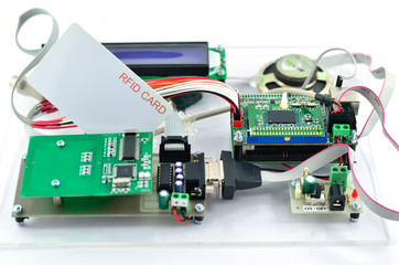 Radio-frequency identification (RFID) reader kit