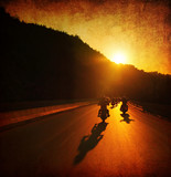 Fototapety Motorcycle ride