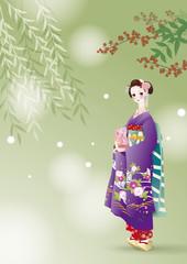 日本の舞妓さん