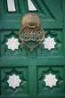Verzierte Tür einer Moschee