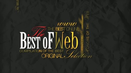 The Best of Web online video word tag cloud template