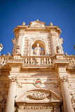 Detail of Lecce's cathedral