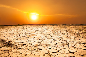 drought land and hot weather