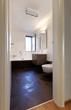 interior modern house, bathroom, open window