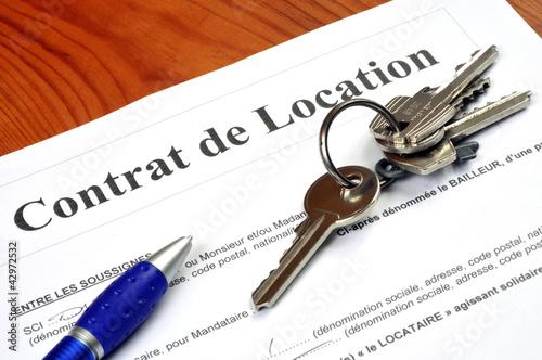 Le contrat de location