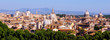 Panoramic Rome cityscape