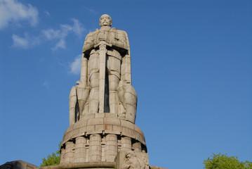 Bismarck Denkmal im Alten Elbpark, Neustadt, Hamburg