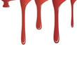 Farbspritzer rot