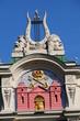 Dach des historischen Theaters