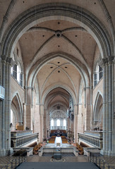 Interior of the Trier Cathedral, Germany