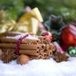 Weihnachtszeit, Zimtstangen