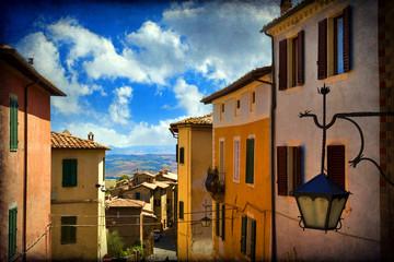 Views of San Gimignano, Tuscany, Italy