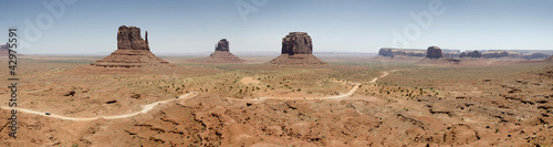 panoramica della Monument Valley