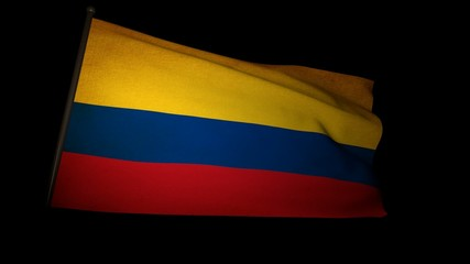 Flag Colombia 01