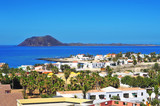 Lobos Island and Corralejo in Fuerteventura, Spain