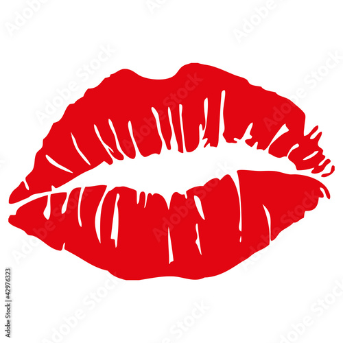 lipstick kiss © emeritus2010