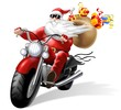 babbo natale motorizzato - 42977118