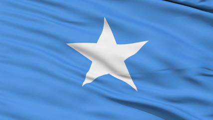 Waving national flag of Somalia