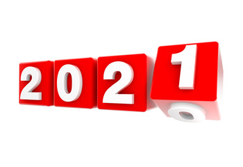 2021 New Year Nuevo Año