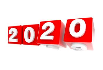 2020 New Year Nuevo Año