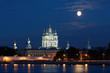 Smolny Cathedral View in White Nights, St. Petersburg, Russia