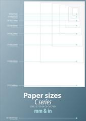 Paper sizes C series