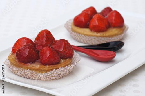 tartelettes aux fraises 1