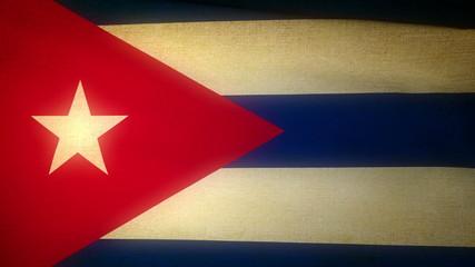 Flag Cuba 04