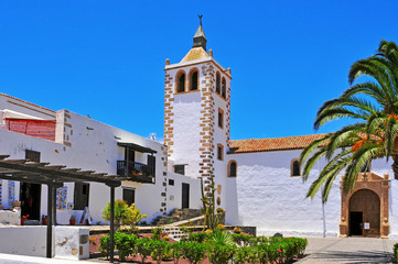 Cathedral Church of Saint Mary of Betancuria in Fuerteventura, C