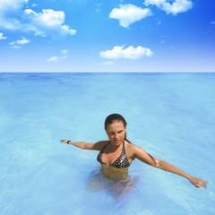 Entspannung im Wasser