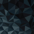 Dark Blue Abstract Diamond Pattern Background. Vector Illustrati