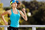 endurance athlete portrait poster