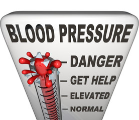 Hypertension Blood Pressure Elevated Dangerous Level